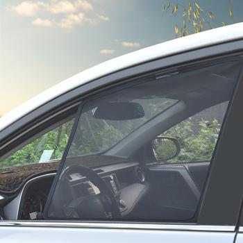 Magnetyczny do okna zasłony Visor dla Nissan Qashqai J11 2020 2019 parasol przeciwsłoneczny boczne osłony przeciwsłoneczne pokrywa dla Qashqai 2016 2017 2018 tanie i dobre opinie CN (pochodzenie) Magnetic Car Side Window Sunshade For Nissan Qashqai J11 For Nissan Qashqai 2017 For Nissan Qashqai 2019
