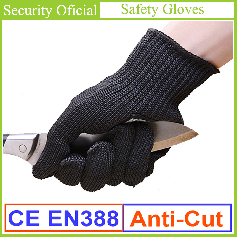 Work Gloves Safety EN388 Cut Resistant Level 5 Stainless Steel Wire Mesh Anti-Cutting Gloves New Guantes Seguridad Gants Travaux