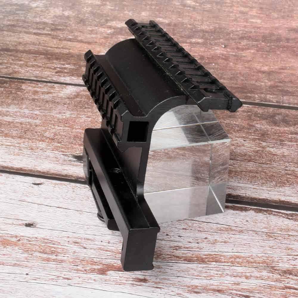 ציד טקטי Picatinny יבר AK Serie Rail צד הר מהיר QD 20mm ניתוק זוגי צד AK רובה היקף Sight הר Bracket