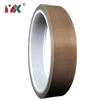 YX 10 m rolka taśma uszczelniająca odporna na wysoką temperaturę taśma samoprzylepna izolacja 300 stopni maszyna do zgrzewania próżniowego taśma tanie i dobre opinie CN (pochodzenie) ELECTRICAL TF10M Taśmy izolacyjnej Arbitrary Slicing Brown 0 13MM 0 18MM