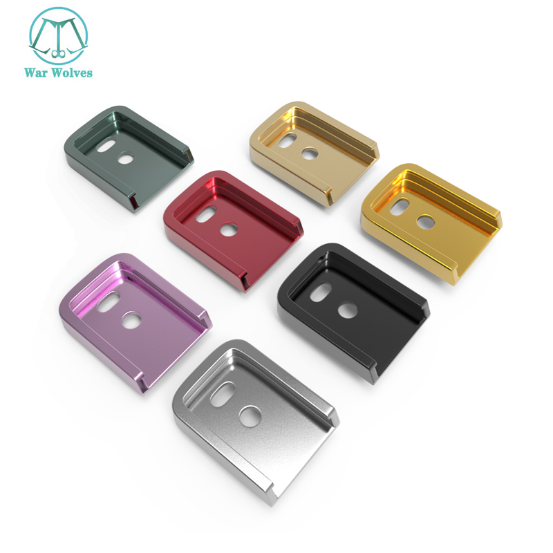 Kublai P1 Magazine Bottom Metal Base CNC Material For KUBLAI P1 Accessories Glock Accessory