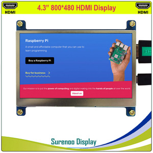 """Image 3 - 4.3 """"4.3 Inch 800*480 Tft Hdmi Usb Capacitieve Touch Panel Lcd Module Display Monitor Scherm Voor Raspberry pi"""