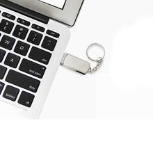 Высокое качество металл usb flash drive 4G 8GB 16GB 32GB 64GB memory stick u disk mini computer gift pendrive real capacity usb stick