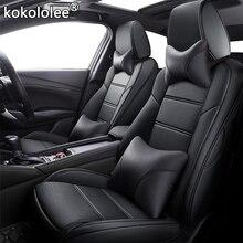 Kokololee مخصص جلدية غطاء مقعد السيارة s لكزس ES ES250 ES350 ES300h ES240 ES200 ES260 CT CT200h غطاء مقعد السيارات السيارات