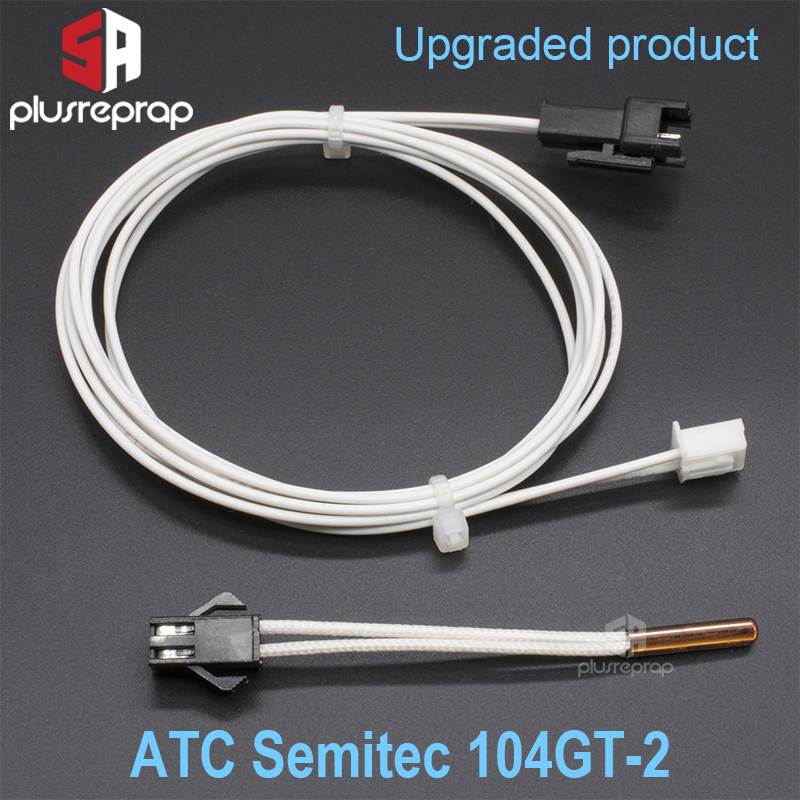 ATC Semitec 104GT-2 104NT-4-16C054RT Thermistor Cartridge For  V5 V6 Volcano Sensor Cartridges Heater Block 3D Printer Parts