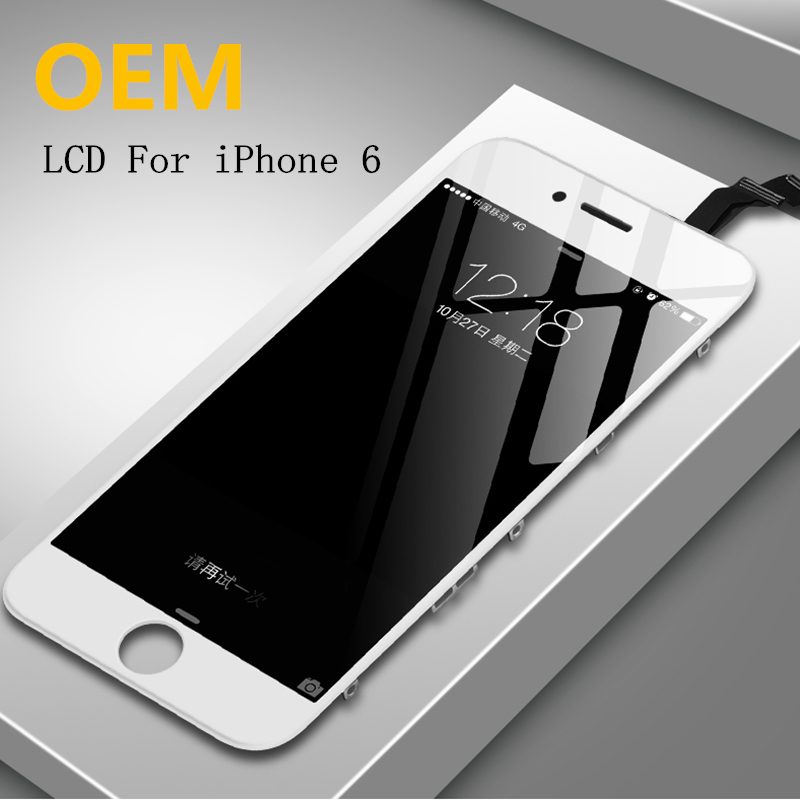 OEM Original LCD Display Touch Screen For IPhone 6 6plus 6s Plus 7 8 Black White  Assembly Replacement With Tools