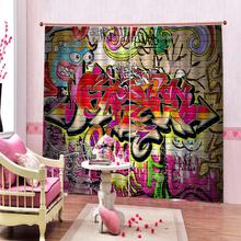 Kitchen Curtains Drapes Decorative Door-Windows Bedroom Living-Room Customized Colorful