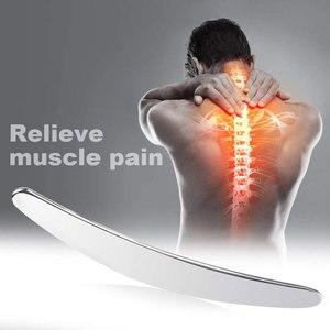 Image 5 - Masaż mięśni relaks Gua Sha fizykoterapia tkanek miękkich ze stali nierdzewnej zmniejszenie bólu ciała narzędzie do masażu