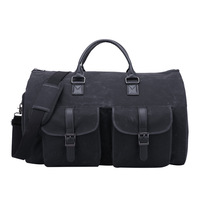 Storage Hand Bag Suit Bag Canvas Cylinder Travel Bag Multi Function Large Capacity Luggage Bag
