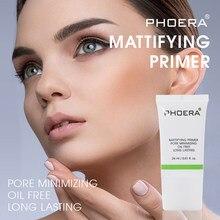 PHOERA-base hidratante de Control de aceite duradero, maquillaje antes de la leche, refrescante, no grasa, base correctora para rostro, esencia, TSLM1