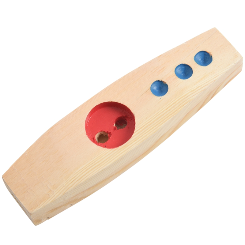Wooden Kazoo Musical Instruments Party Favors (Wooden-01)