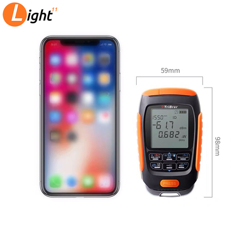 4 in 1 Mini Multifunction Optical Power Meter Save data Visual Fault Locator Network Cable Test VFL optical fiber tester 15/km Islamabad