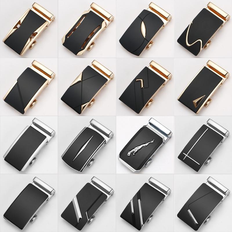 Men's Belt Buckle Pants Buckle Head Casual Belt Head Business Accessories Automatic Buckle Width 3.5CM  Belt Buckle