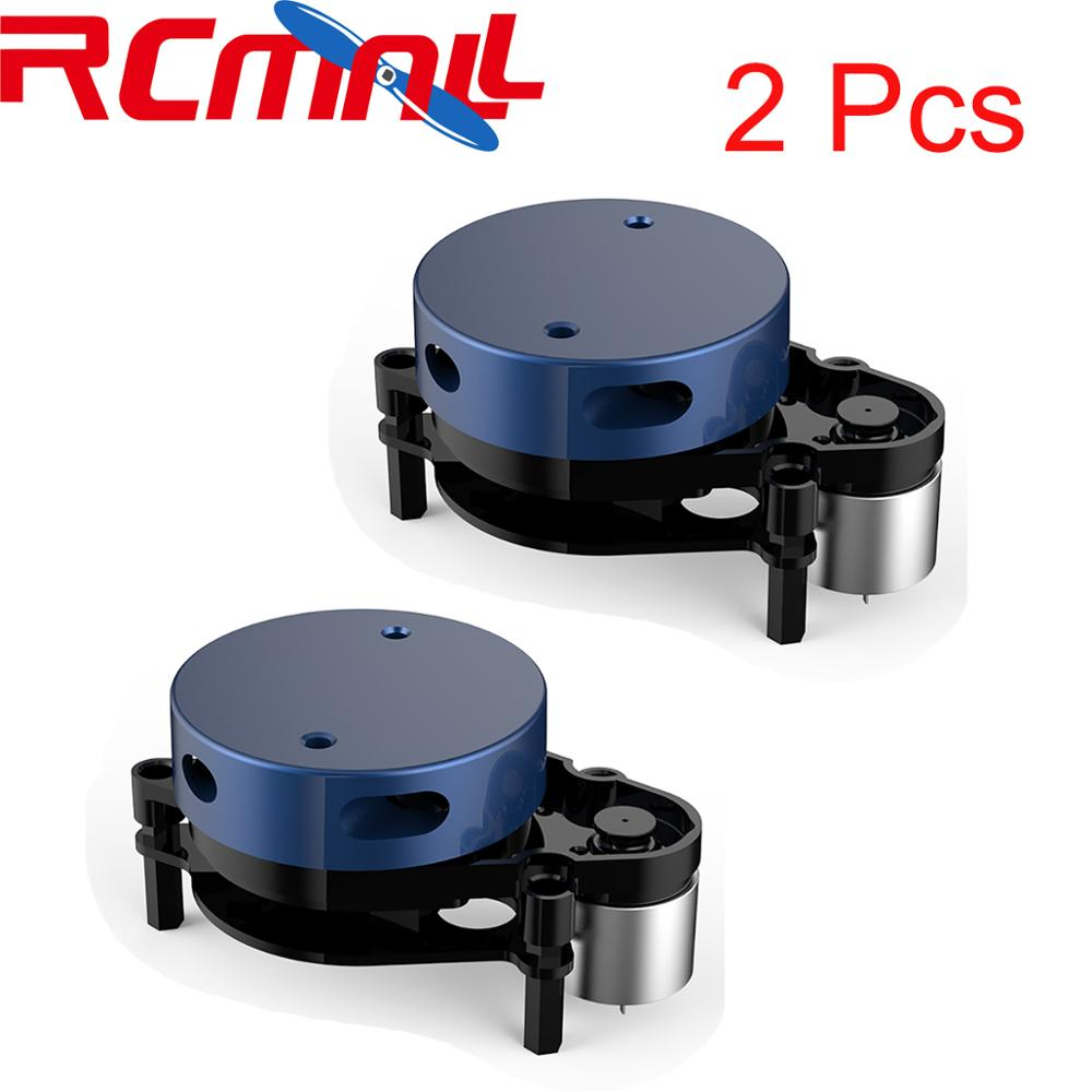 2Pcs YDLIDAR EAI 360 Degree Scanning Radar Scanner X2L 2D Ultra-small Lidar Sensor, ROS Obstacle Avoidance Rangefinder