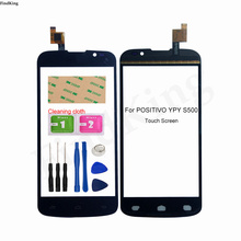 Touch Screen For Positivo Ypy S500 Touch screen Digitizer Sensor Front Glass Touch Panel Replacement Part