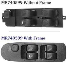 Dla Mitsubishi Carisma Space Star sterowanie elektryczne przełączniki główne przełącznik przedniego lewego prawego okna konsoli MR740599 MR792845