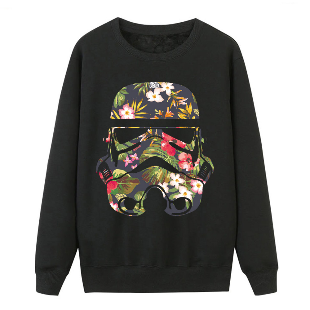 Star Wars Hoodies Women Darth Vader Sweatshirt Coat Autumn Winter Fleece Women Hoodies Pattern Print Hip Hop Harajuku Streetwear