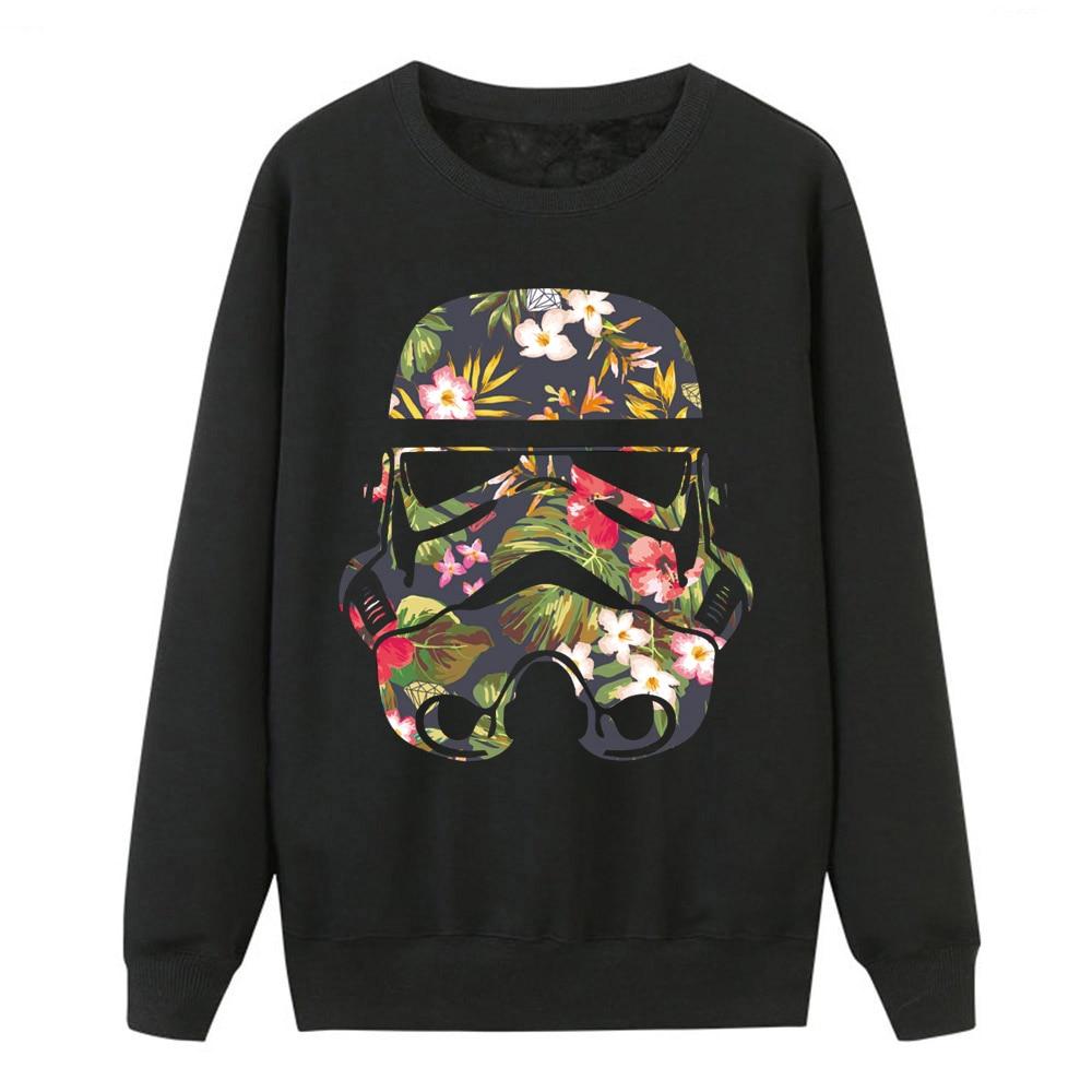 Star Wars Hoodies Women Darth Vader Sweatshirt Coat Autumn Winter Fleece Women Hoodies Pattern Print Hip Hop Harajuku Streetwear