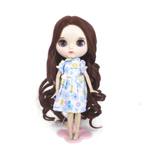 Wigs only!JD192 Blyth doll wigs 23-25CM synthetic wig Nature boyish 9-10inch accessories for