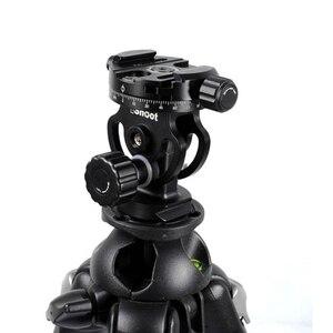 Image 5 - IShoot – tête de boule panoramique 2D 360, pour appareil photo, trépied, monopode, plaque à dégagement rapide, 2 voies