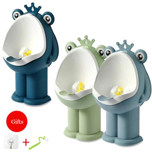 Children's Urinal Kids Toilet Child Standing Urinal Wall-mounted Toilet for Boy Portable Frog Toilet Training Split Design Potty