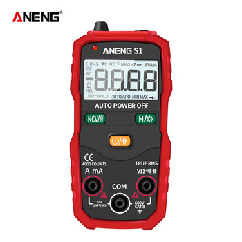 цена на ANENG S1 Digital Multimeter True RMS Auto Range Professional LCD automatic Smart Multimeters Voltage Ammeter Tester