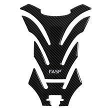 Real carbon fiber sticker professional racing motorcycle fuel tank pad decal T01