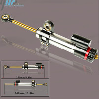 Universal Aluminum Motorcycle Damper Steering Stabilize Safety Control For Ducati Monster 696 1000 1200 695 795 796 821 1100