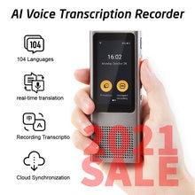 Langogo минут цифровой диктофон Регистраторы переводчик и диктовка