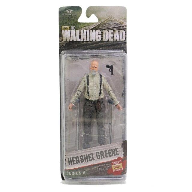 AMC TV Series Action Figure Walking Dead Abraham Ford Rick Grimes Hershel Greene