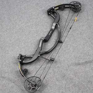 Image 4 - Linkboy Archery Pure Carbon Fiber Compound Bow Predator 2 Generation 50 65lbs for Hunting Shooting