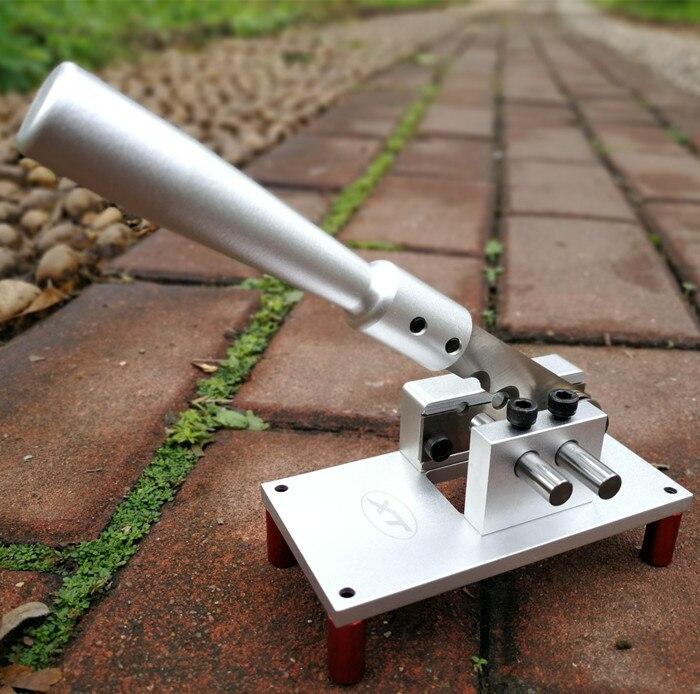 Fil de plomb positionnement coupe fil positionnement ciseaux thermorétractable Tube fichier coupe trou diamètre 6.14.6mm