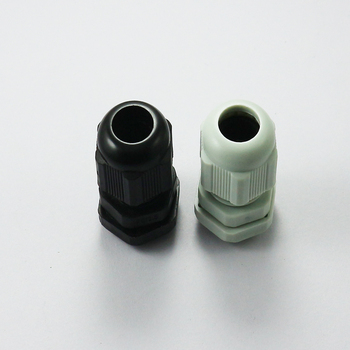 Waterproof Cable Gland 5pcs Cable entry IP68 PG 7 9 11 13.5 16 19 21 25 29 36 42 48 63  White Black Nylon Plastic Connector m63 1 5 cable gland plastic ip68 waterproof adjustable 37 44mm cable connector cable gland joint