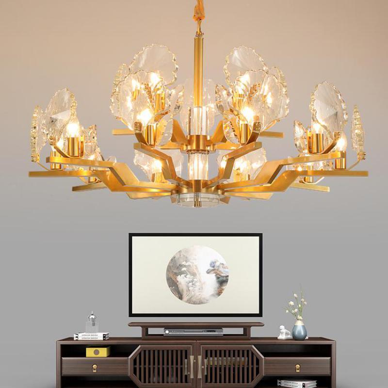 zyrandole i lampy do salonu