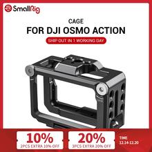 SmallRig Vlogging Cage for DJI Osmo Action Feature with 1/4 & 3/8 Arri Locating holes For Microphone EVF Mount Attach CVD2360