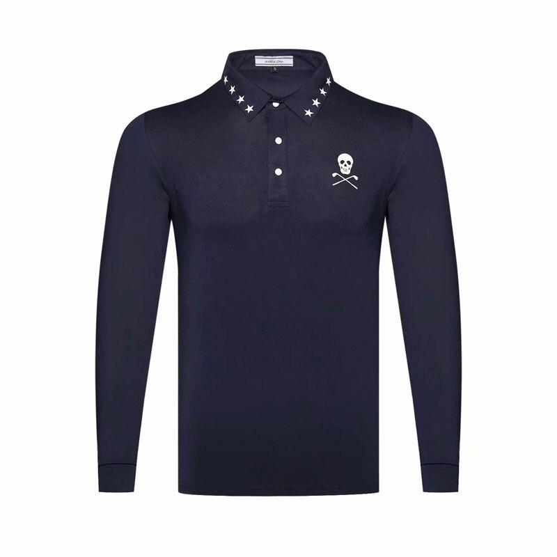Cooyute Novo Sportswear luva Cheia MAPK & LONA cor roupas de Golfe de Golfe T-shirt 4 S-XXL na escolha de Lazer camisa de Golfe frete grátis