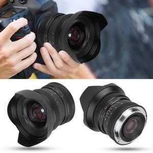 Image 5 - Brightin Star lente de enfoque Manual de Metal de 12mm f2.0 Super gran angular para Sony E, montaje Canon APS C Fuji, montaje FX, sin espejo