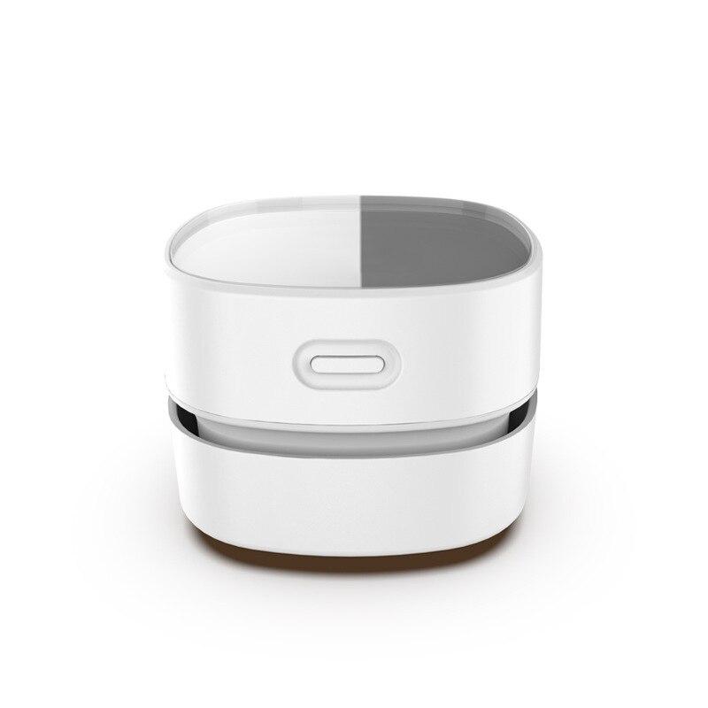 USB Rechargeable Handheld Sweeping Robot Desktop Vacuum Cleaner