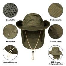Уличная крышка с клапаном анти-пот переносной зонтик шеи крышка Солнцезащитная шляпа аксессуары для спортивной одежды с подбородком ремень