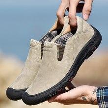 DM51 Männer Schuhe Leder Casual Hohe Qualität Faulenzer Atmungs Wohnungen Weiches Licht Schuhe Mode herren outdoor Schuhe Große Größe 48