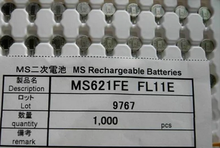 100 adet/grup yeni orijinal MS621FE FL11E MS621FE şarj edilebilir 3V yedek akü