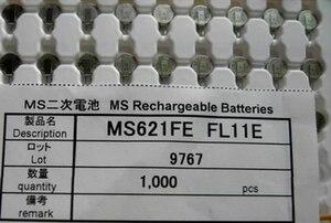 Image 1 - 100pcs/lot    New original  MS621FE FL11E   MS621FE  Rechargeable 3V Back up Battery