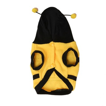 Lovely Dog Clothes Winter Cat Products Bee Apparel Coat Hoodie Costume Outfit Dog Clothes For Cute Pets Clothing Supplies #15 neko atsume cat new cosplay daily hoodie girl lovely sweater winter cloak hoodie warm coat costume