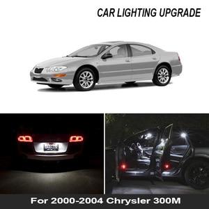 Image 1 - 16x branco canbus acessórios do carro led interior lâmpadas kit para 2000 2004 chrysler 300m mapa cúpula tronco porta placa lâmpada