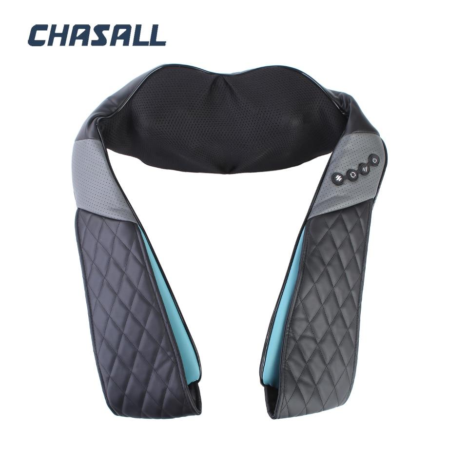 CHASALL ネック指圧ボディバック脚ショルダー電気マッサージツール健康ケア痛みリラクゼーションビッグモーターホームカーを使用  グループ上の 美容 & 健康 からの マッサージ & リラクゼーション の中 2
