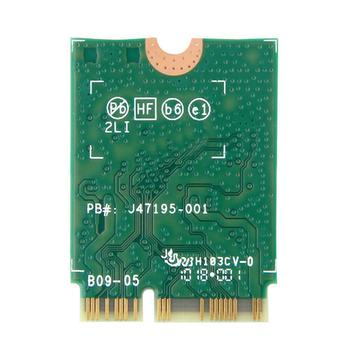 Bluetooth 5,0 Intel Dual Band AC 9560 9560NGW NGFF BT5.0 беспроводная карта M.2 CNVI 1,73 Гбит/с Wi-Fi H7A3