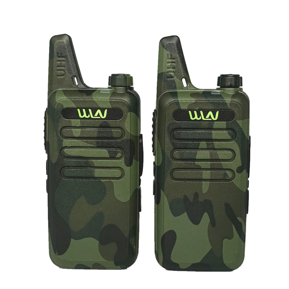 WLN KD C1 Portable Wireless Walkie Talkie Two Way Radio KD-C1 Mini KDC1 CB Ham Radio Station Handheld FM Transceiver for Outdoor