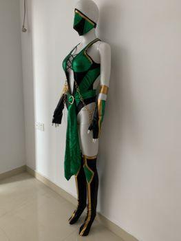 Video Game Morta Kombat X Cosplay Jade Costume Custom Made 4