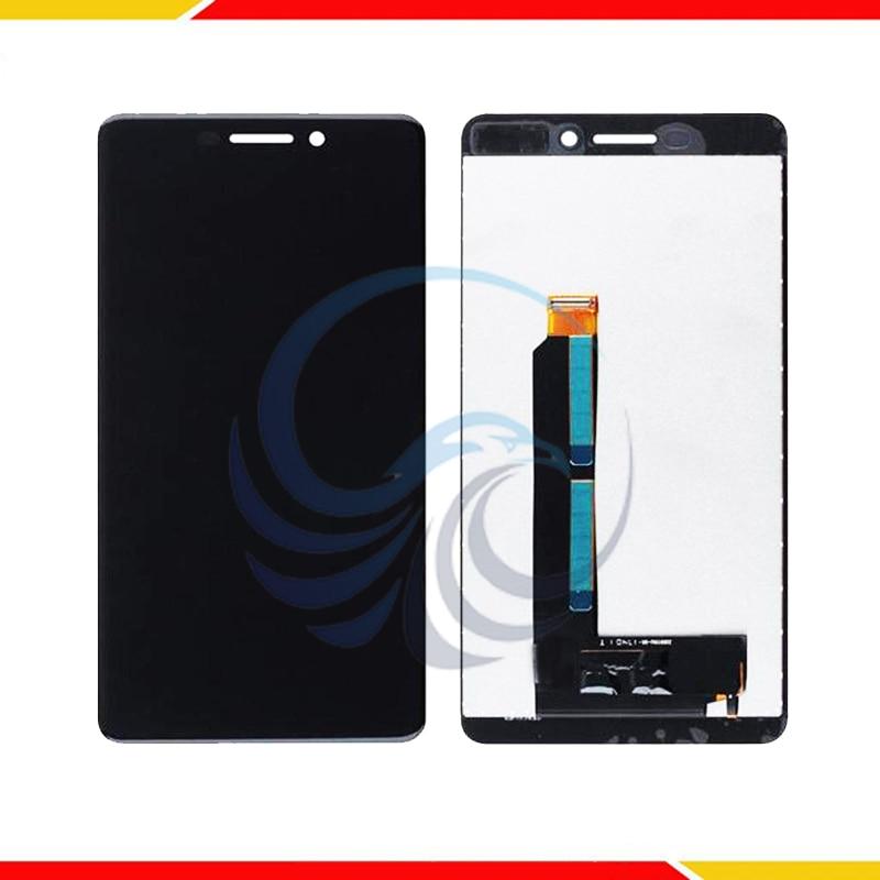 5.5'' For Nokia 6.1 N6 2nd TA-1043 TA-1045 TA-1050 TA-1054 TA-1068 For Nokia 6 2018 LCD Display+Touch Screen Digitizer