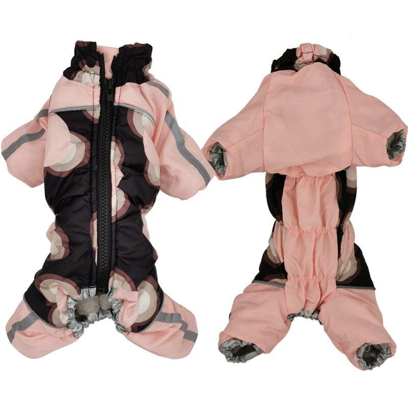 Girl Dog Clothes Female Dog Clothing Winter Pet Coat Jacket Jumpsuit Outfit Yorkshire Poodle Pomeranian Schnauzer Dog Outfit